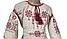 Платье Вышиванка лен для девочки р. 98 - 128, фото 2