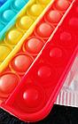 ОПТ Поп іт антистрес вічна пупырка Push Bubble Fidget квадрат сквиш для зняття стресу Pop it, фото 9