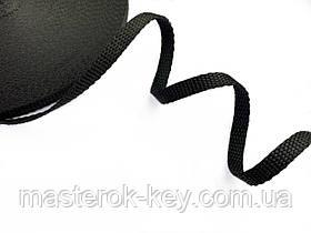 Ременная лента для сумок и ремней ширина 10мм цвет Черный