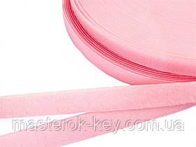 Застежка липучка метражная 2см цвет Розовый
