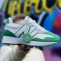 Женские кроссовки New Balance 327 Casablanca Green | Нью Беланс 327 Касабланка Зеленые