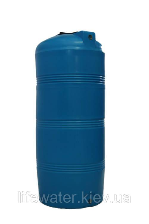 Емкость V-320, пищевая пластиковая бочка, бак для воды