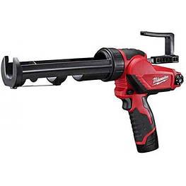 Аккумуляторный клеевой пистолет для герметика Milwaukee M12 2441-21 (комплект)