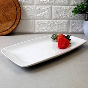 Блюдо прямоугольное фарфоровое HLS 300х170 мм (HR1431), фото 2