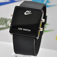 Часы наручные led watch nike