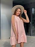 Вільний сукня жіноча літній без рукавів, фото 3
