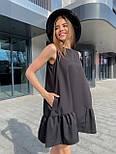 Вільний сукня жіноча літній без рукавів, фото 4