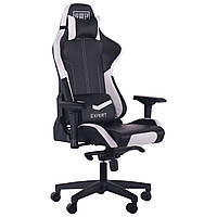 Крісло VR Racer Expert Mentor чорний/білий, TM AMF