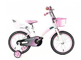 "Дитячий велосипед Kids Bike Crosser 3 - 18"" Pink"