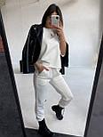 Стильный костюм женский спортивный с коротким рукавом, фото 4
