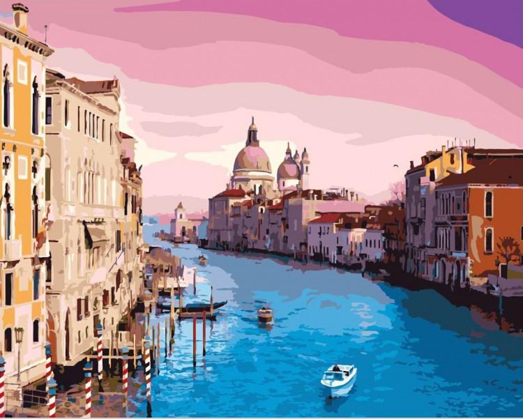 "Картина по номерам. Brushme "" Венеция "" GX8337, 40х50 см Картина по номерам. Brushme "" Венеция "" GX8337"