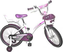 "Дитячий велосипед Kids Bike Crosser 3 - 18"" Purple"