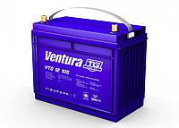 Гелевый аккумулятор АКБ Ventura VTG12-105 M8, 12В/135Ач для солнечных панелей