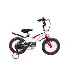Велосипед дитячий полегшений Crosser MAGNESIUM SPACE 20 White