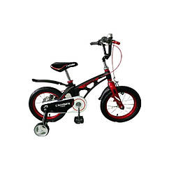 Велосипед дитячий полегшений Crosser MAGNESIUM SPACE 20 Black