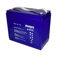 Гелевый аккумулятор АКБ Ventura VTG 12-110 M8, 12В/145Ач для солнечных систем, ветрогенераторов