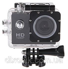 Водонепроницаемая Экшн камера Action Camera A9 Full HD для дайвинга большой комплект креплений