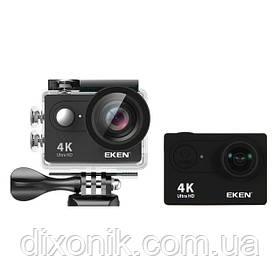 Action Camera Экшн камера EKEN H9 4K black для погружения и отдыха большой комплект креплений