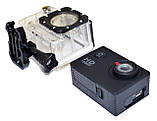 Спортивная экшн камера Action Camera A7 для туризма и развлечений большой комплект креплений, фото 5