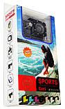 Спортивная экшн камера Action Camera A7 для туризма и развлечений большой комплект креплений, фото 7