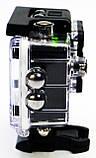 Туристическая Экшн камера Action Camera D600 Full HD для подводной съемки большой комплект креплений, фото 3