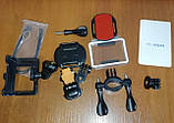 Action Camera Экшн камера EKEN H9 4K black для погружения и отдыха большой комплект креплений, фото 2
