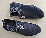 Мужские кроссовки КРОК К209 СИНИЙ, фото 4