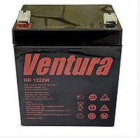Аккумуляторная батарея AGM свинцово-кислотная Ventura HR 1222W 12В/5Ач для UPS