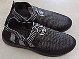 Чоловічі кросівки КРОК К209 ЧОРНИЙ, фото 4