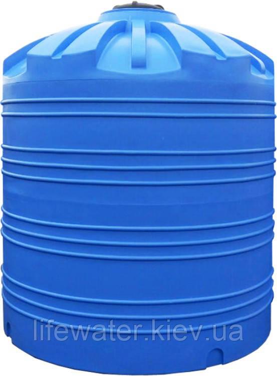 Емкость V-10000, пищевая пластиковая бочка, бак для воды