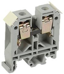 Зажим наборный ЗНИ-6мм2 (JXB50А) серый IEK
