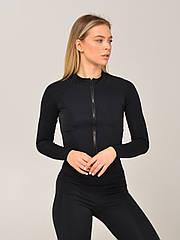 Женская спортивная кофта NV Lykoi черная