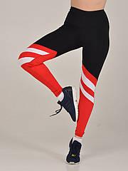 Черно-красные спортивные лосины NV Birman