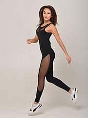 Комбинезон женский спортивный NV Chartreux черный