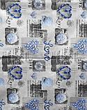 Наволочки из бязи Голд 50 х 70 Синие сердечки, фото 2