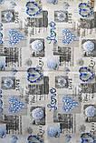 Наволочки из бязи Голд 50 х 70 Синие сердечки, фото 4