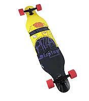 Скейт лонгборд 4109B, наждак, колёса PU (канадский клен) Пицца