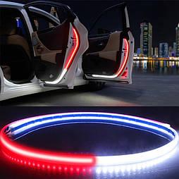 Светодиодная подсветка дверей автомобиля 4 шт. стробоскоп