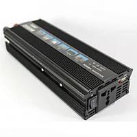 Инвертор преобразователь напряжения UKC AC/DC 1000W 12V SSK