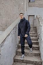 Костюм мужской синий демисезонный куртка штаны Softshell Easy SKL59-290685