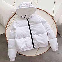 Куртка женская белая SKL11-290235