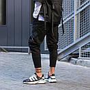 Чоловічі Чорні штани, фото 2