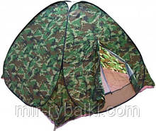 Палатка 2.5х2.5 с москитной сеткой,саморазкладывающаяся