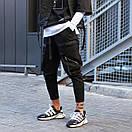 Чоловічі Чорні штани, фото 4