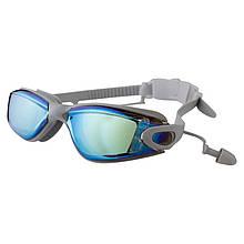 Очки для бассейна взрослые серые Speedo 8086 SKL11-282817