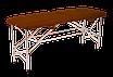 "Кушетка для Косметолога ""Автомат Еко-Шкіра"" 185*60*75 Косметологічна ""Економ"", фото 2"