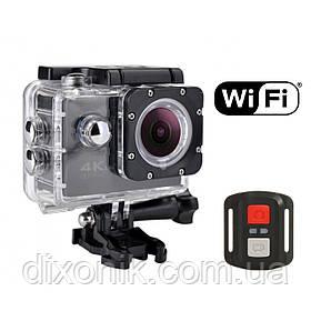 Спортивная Action Camera Экшн камера SJ7000R WiFi 4K большой комплект креплений + пульт