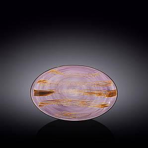 Блюдо овальное глубокое Wilmax Scratch Lavander 25х16,5х6см WL-668740 / A
