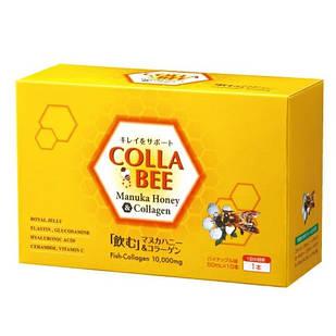 Yamada La Cynthia Colla Manuka Honey Bee Collagen 10000 мг та мед манука 1000 мг 10 пляшок по 50 мл