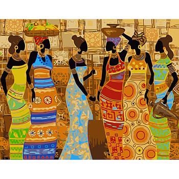 Картина по номерам Strateg Эфиопские мотивы, 40х50 см